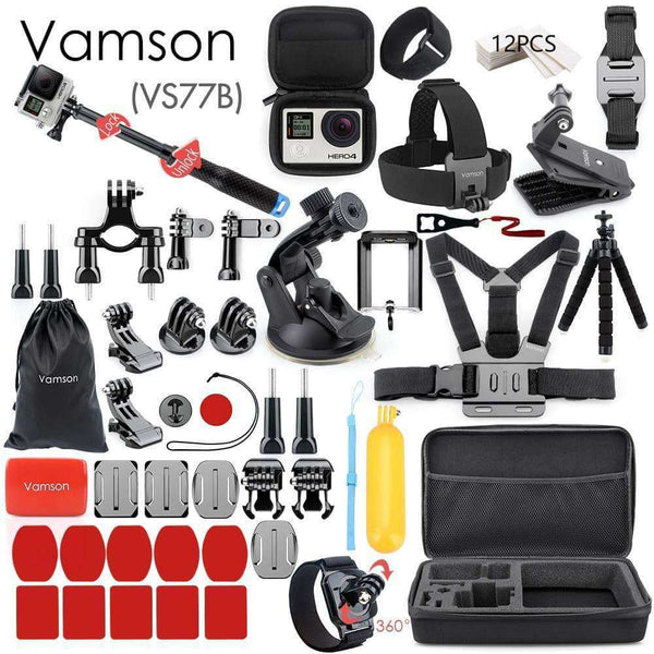 Vamson for Gopro Accessories Set,Camera & Accessories,Uunoshopping