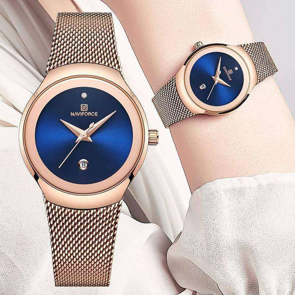 Women Fashion Gold Quartz Watch,Women'swatches,Uunoshopping