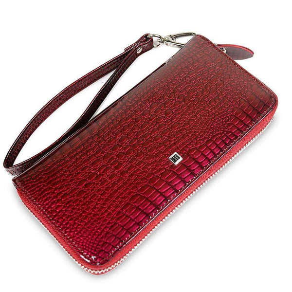 Women Long Zipper Wallet,Wallets & Holders,Uunoshopping