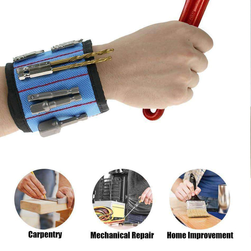 Wrist Support Strong Magnetic Bracelet Pouch Bag,tools electronics,Uunoshopping