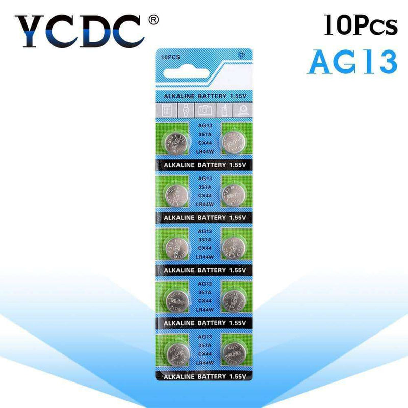 YCDC 10pcs Battery Coin Cell 1.55V Alkaline,watch accessories,Uunoshopping