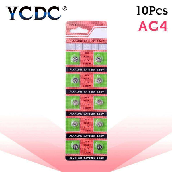 YCDC 10PCS/lot Battery,watch accessories,Uunoshopping
