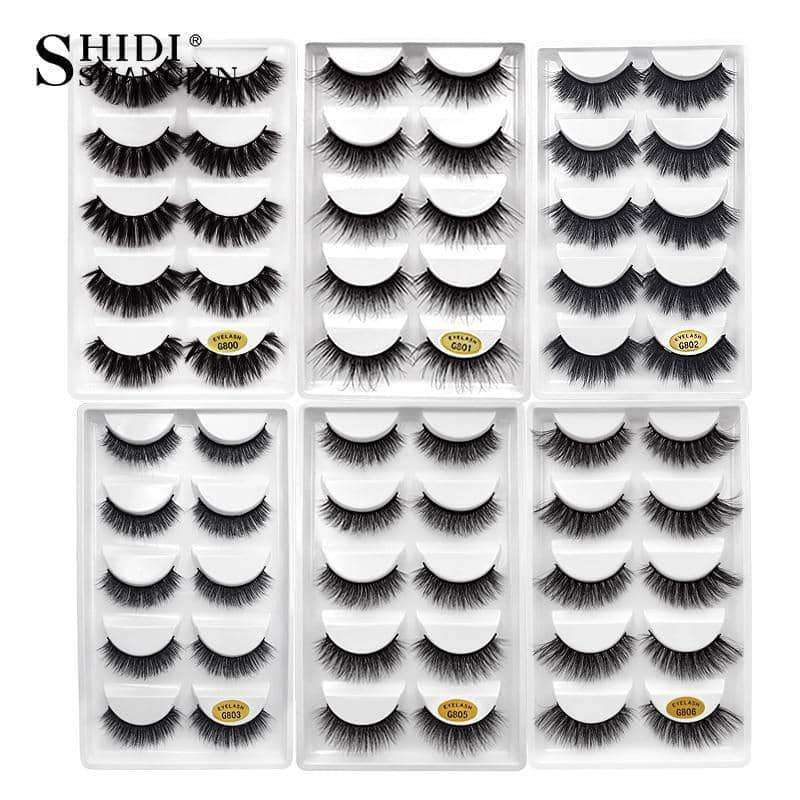 1 box mink eyelashes natural long,Beauty1,Uunoshopping
