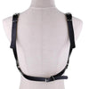 Sexy Pu Leather Harness Belts women Tassel Chain Waist Belt Bondage Cage Leisure body chest Ladies Straps Suspenders Accessory