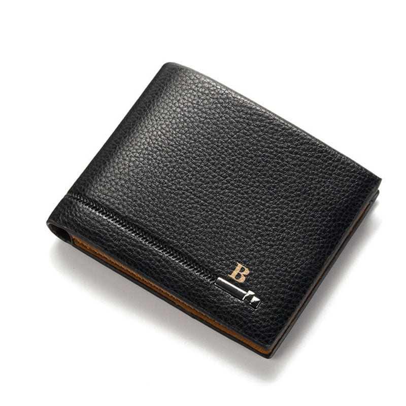 2018 Luxury Brand Zipper Business Men Wallets Leather Men Purses Mens Clutch Wallet Men Trifold Money Bag Multi-card Holder W135