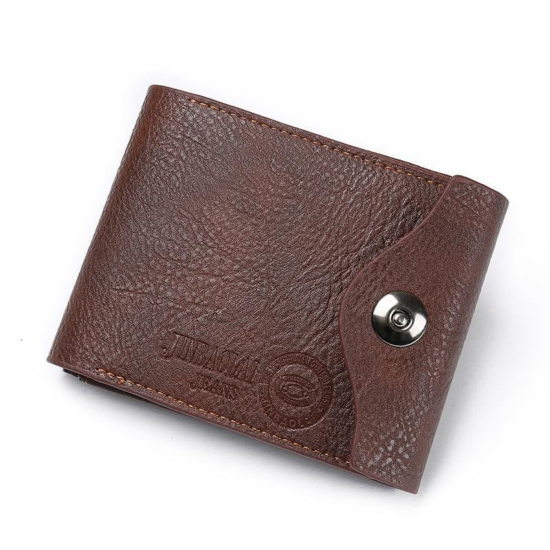 2019 Hot Fashion men wallets Bifold Wallet ID Card holder Coin Purse Pockets Clutch with zipper Men Wallet With Coin Bag Gift