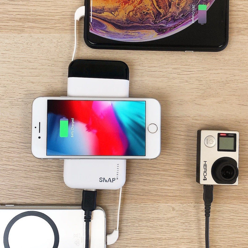 PowerPack - 10,000mAh Wireless Charging Power Bank