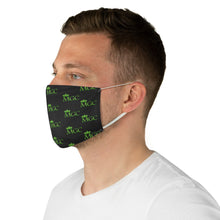 Load image into Gallery viewer, Black & Green MGC Face Mask