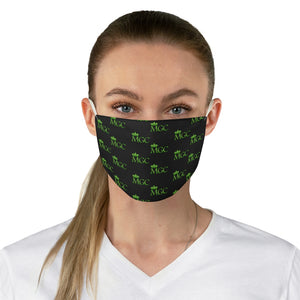 Black & Green MGC Face Mask