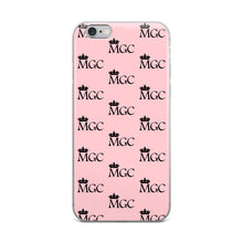 Load image into Gallery viewer, MGC Pink and black iPhone Case