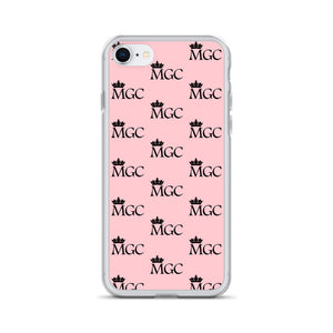 MGC Pink and black iPhone Case