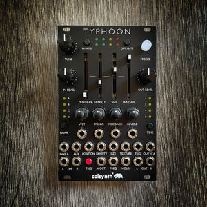 Typhoon (aka Cell) (Expanded Mutable Clouds with sliders) Matte Black Aluminum