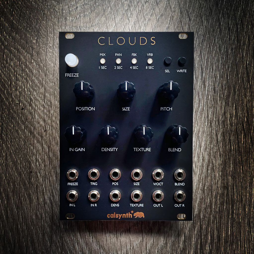 Mutable Instruments Clouds Clone Eurorack Module - Matte Black