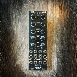 uTides II (New version of Mutable Tides in 8hp) - Matte Black