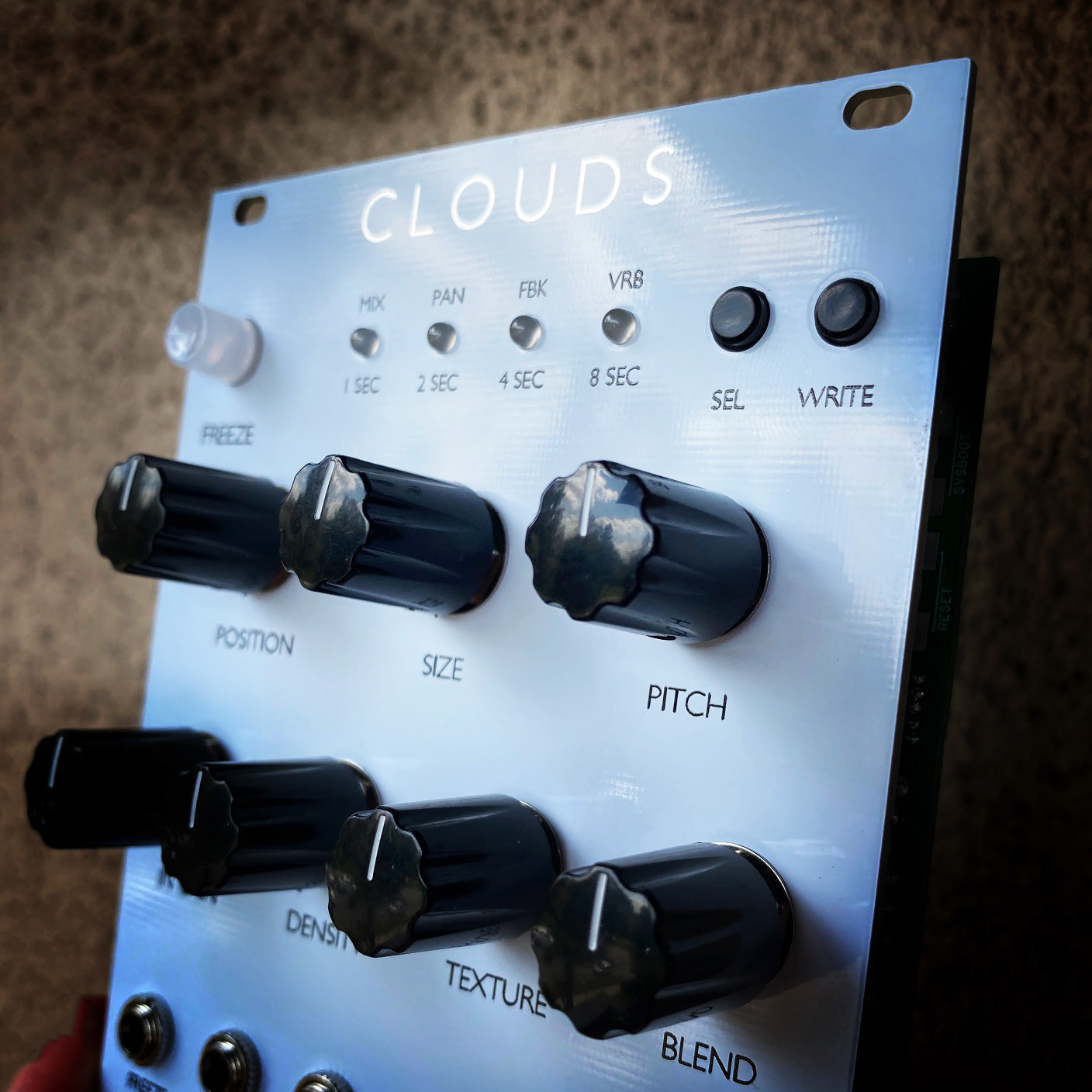 Mutable Instruments Clouds Clone Eurorack Module - White