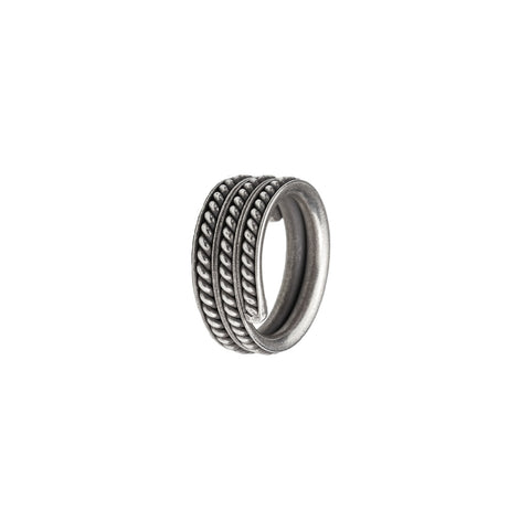 Rope Silver Ring (Handmade)