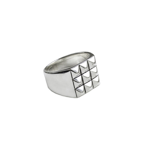 Studs Silver Ring