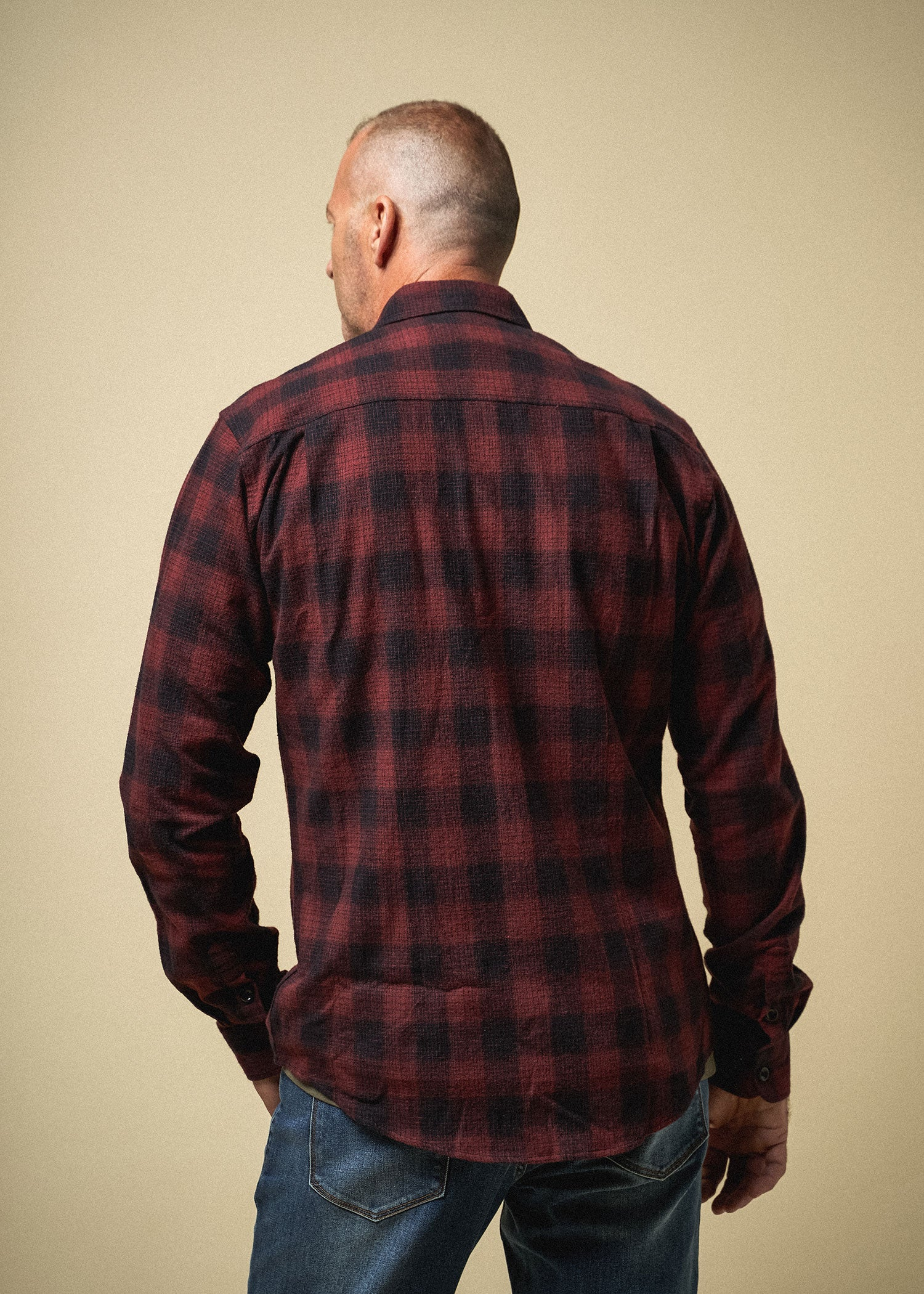 Longjohn-tallmens-heavyflannel-armyplaid-sumacred-back-comingsoon