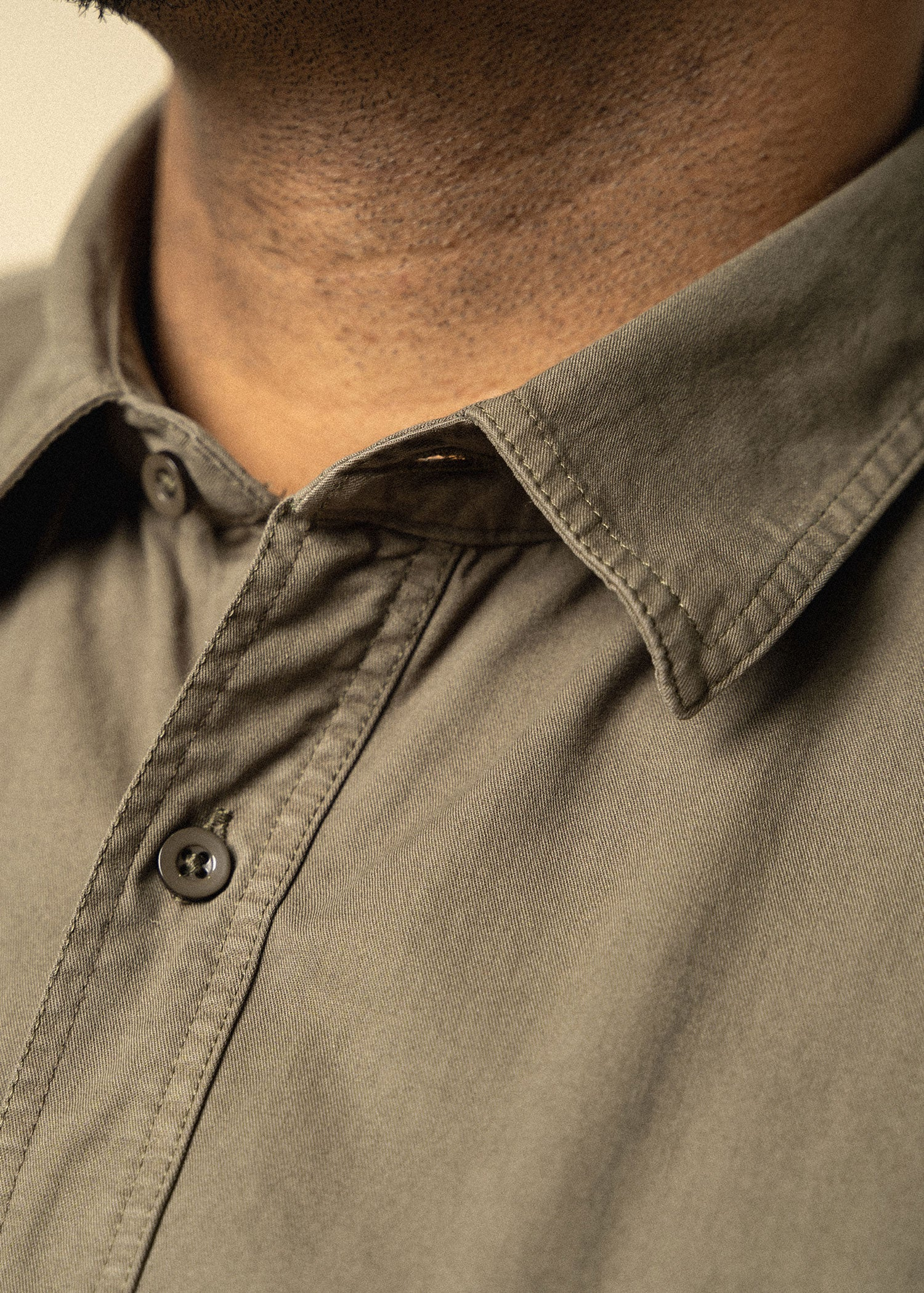 Longjohnandsons-tallmens-2pkttwillshirt-surplusgreen-detail
