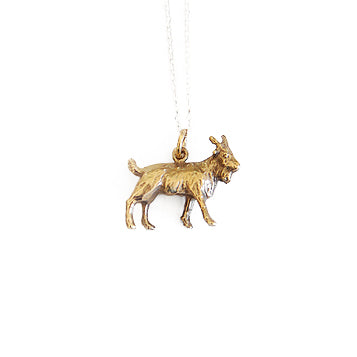 Goat Pendant | SMITH Jewellery