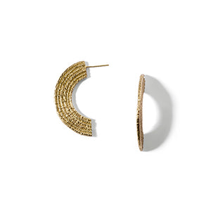 Basket Studs | SMITH Jewellery