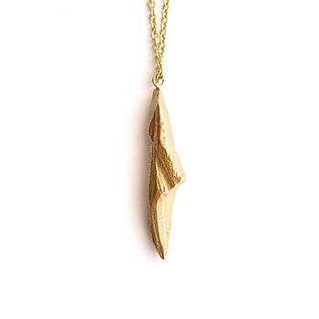 Brass Shard Necklace | SMITH Jewellery