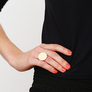 Disk Ring | SMITH Jewellery