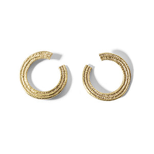 Broken Circle Studs | SMITH Jewellery