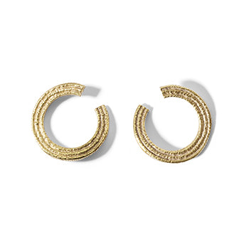 Broken Circle Studs - SMITH Jewellery