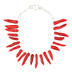 Finger Coral Necklace | SMITH Jewellery