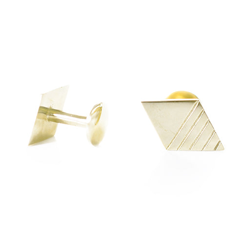 Diamond Gilt Cufflinks | SMITH Jewellery