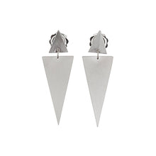 Load image into Gallery viewer, Double Triangle Studs | SMITH Jewellery