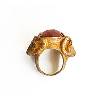 Load image into Gallery viewer, Double Ram Ring | SMITH Jewellery