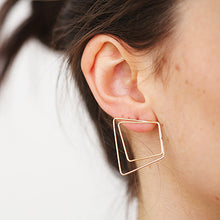 Load image into Gallery viewer, Gilt Wire Studs | SMITH Jewellery
