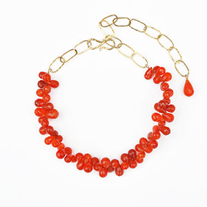 Faceted Carnelian Necklace | SMITH Jewellery
