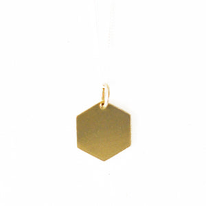 Brass Geo Pendants | SMITH Jewellery