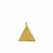 Load image into Gallery viewer, Brass Geo Pendants | SMITH Jewellery