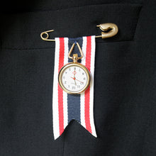 Load image into Gallery viewer, Ribbon Watch Brooch | SMITH Jewellery