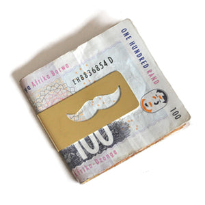 Moustache Money Clip | SMITH Jewellery