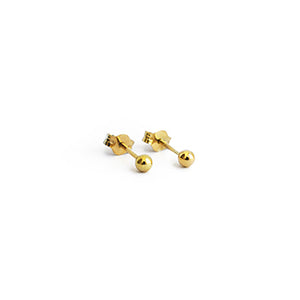 9kt Gold Dot Studs | SMITH Jewellery