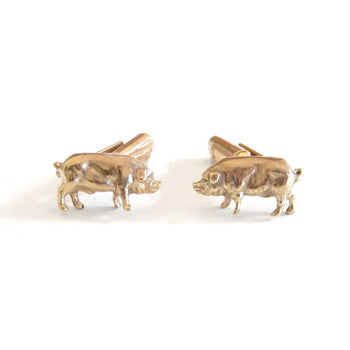 Oink Cufflinks | SMITH Jewellery