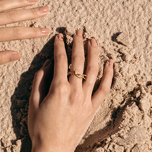 Seaweed Ring | SMITH Jewellery