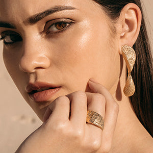 Double Shell Studs | SMITH Jewellery