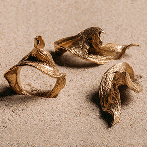 Twisted Seaweed Ring - SMITH Jewellery