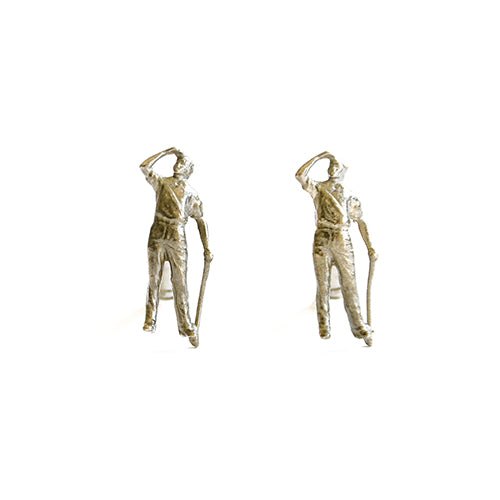 Golfer Cufflinks | SMITH Jewellery