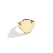 Load image into Gallery viewer, Oval Signet Ring - SMITH Jewellery