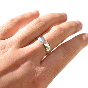 Half Round Wide Ring | SMITH Jewellery