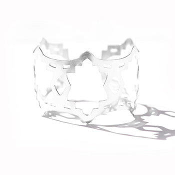 Moroccan Silver Cuff | SMITH Jewellery