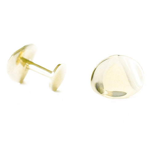 Natural Gilt Cufflinks | SMITH Jewellery