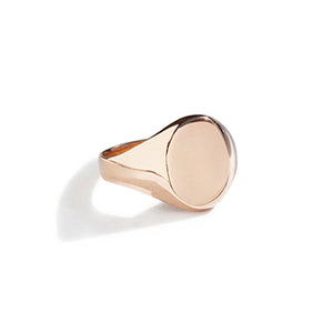 Large Oval Signet Ring | SMITH Jewellery